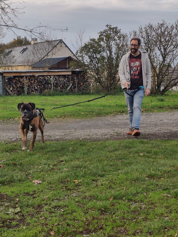 edukachien, aurélie frérou, education canine, comportementalisme canin a domicile, 44.49.85.53;cani marche 3