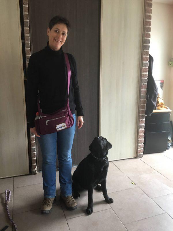 edukachien, aurélie frerou, education canine et comportementalisme canin a domicile, annabelle et plume