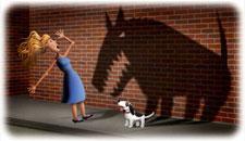 desensibilisation, stage, seance, enfant, education canine, comportement, eduka'chien, aurélie frérou, 44.49.85.53.35